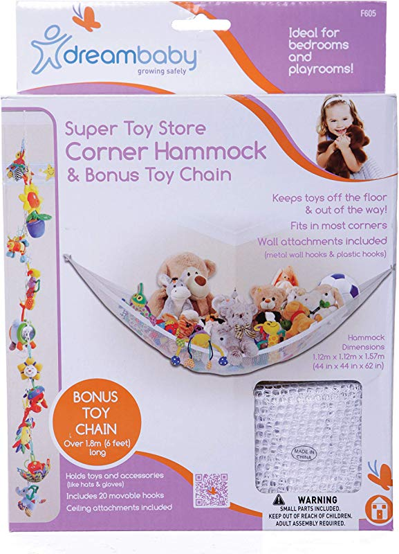 Dreambaby Super Toy Hammock And Toy Chain