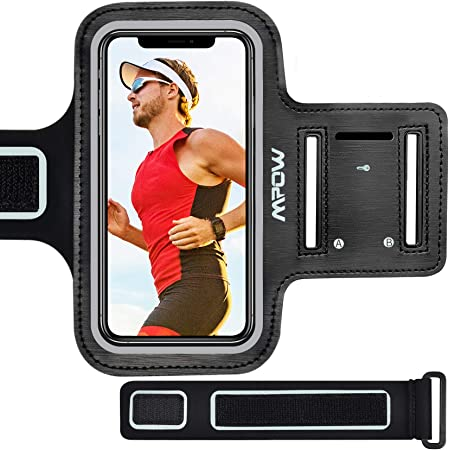 Red✔Quality Sports Armband Gym Running Workout Belt Strap Phone Case Cover