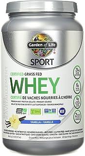GARDEN OF LIFE Vanilla Sport Whey Protein, 652 GR