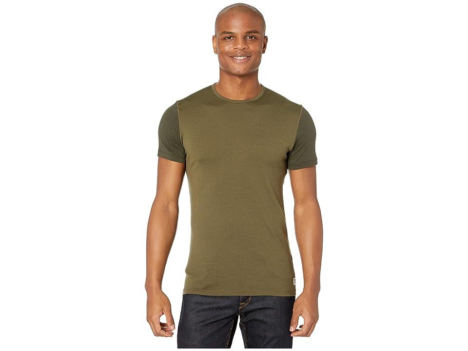 Fjallraven Keb Wool T-Shirt (Laurel Green/Deep Forest) Men