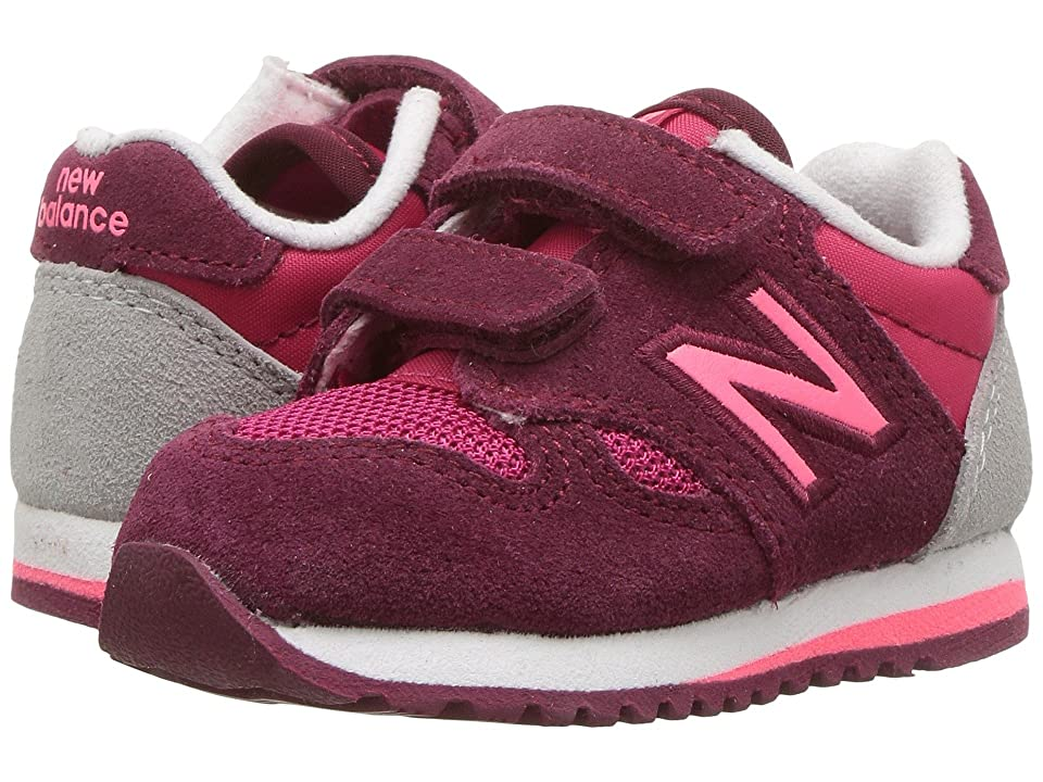 New Balance Kids KA520v1I (Infant/Toddler) (Pink/Purple) Girls Shoes