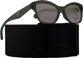 3e245e7aee70 Prada PR29RVF Eyeglasses 54-17-140 Opal Dark Green w/Demo Clear Lens