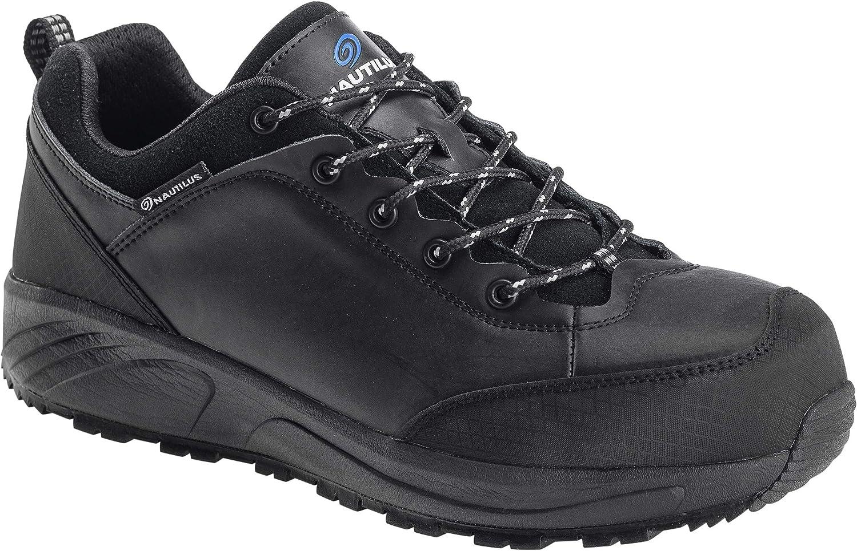 Nautilus Safety Footwear mens Surge Oxford, Black, 7.5 US