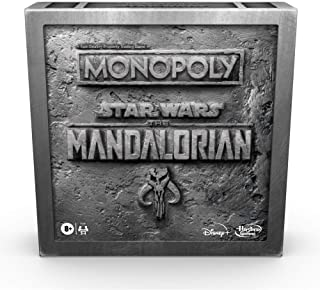 """Monopoly: Star Wars The Mandalorian Edition Board Game, Protect The Child (""""Baby Yoda"""") From Imperial Enemies"""