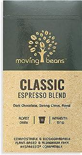 Moving Beans Classic Espresso Nespresso Capsules Coffee