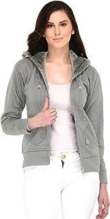Fasnoya Women's Solid Sweatshirt with Hood