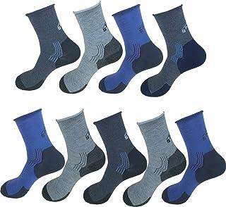 9 pares de calcetines para hombre con diseño de autobuses peinados, opacos, 1266