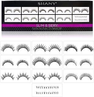 SHANY Cosmetics Eyelash Extend Assorted Reusable Eyelashes Thin Collection, 3.6 Ounce