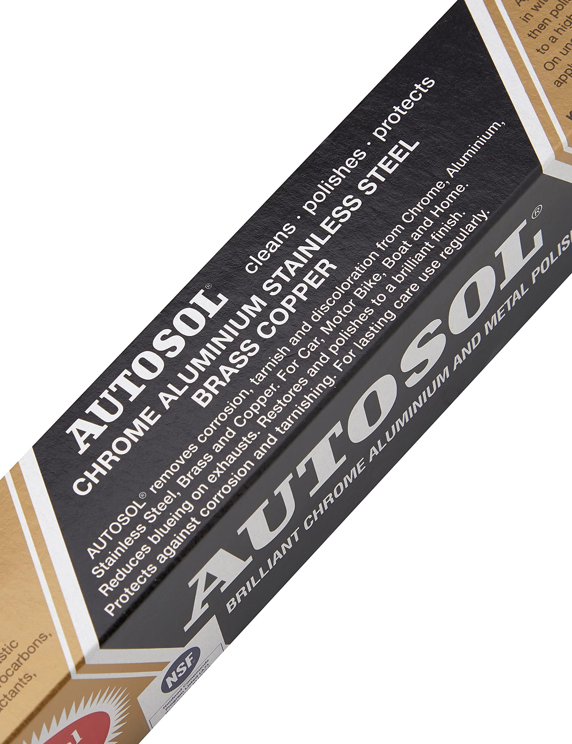 Autosol GV0400 Metal Polish, 75 ml