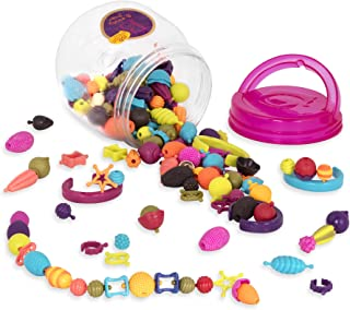 B. Toys - (150-pcs Pop Snap Bead Jewelry - DIY Jewelry Kit for Kids
