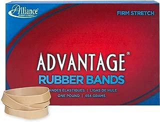 Alliance Rubber 26845 Advantage Rubber Bands Size #84, 1 lb Box Contains Approx. 150 Bands (3 1/2