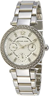 Women's MK5615 Parker Silver Watch