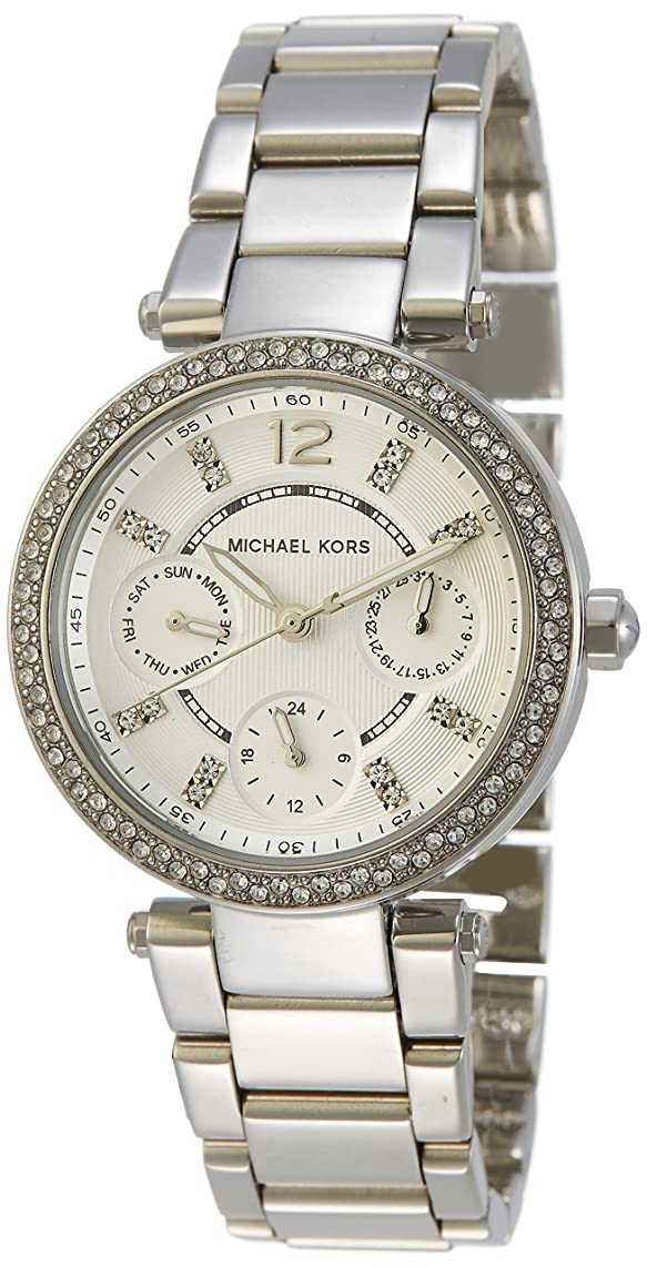 Michael Kors Women's MK5615 Parker Silver Watch