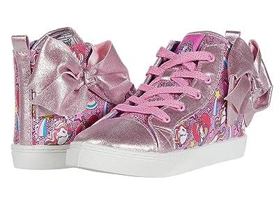 Josmo Kids Jojo Siwa Rainbows High Top (Little Kid/Big Kid) (Pink) Girl