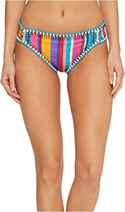 Nanette Lepore - Sayulita Siren Cheeky Hipster Bikini Bottom