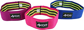 4KOR Fitness Hip Band Resistance Loop Circle Perfect for Dynamic Warm-Ups and Activating Hips and Glutes