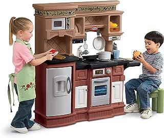 Little Tikes Gourmet Prep 'N Serve Kitchen Set, Brown