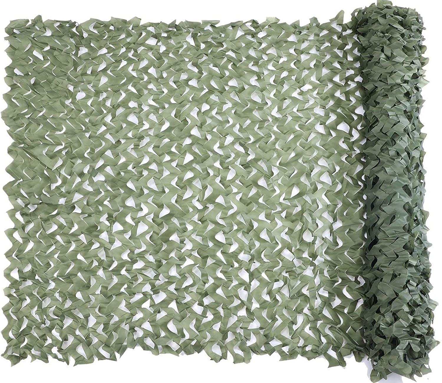 Camouflage Netting Military Nets Lightweight Durable Sunshade Decoration Hunting Blind Shooting Camo Net (color   Green, Size   3x3m)
