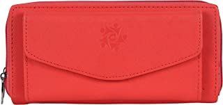 b4bags Women Wallet with Multiple Card Slots.PU Leather. Long Ladies Purse.