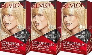 Revlon Colorsilk Beautiful Color, Ultra Light Natural Blonde, 3 Count