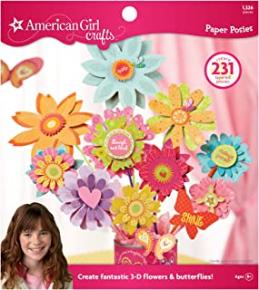 American Girl Crafts Paper Flower Posies Activity Kit, 1326pc