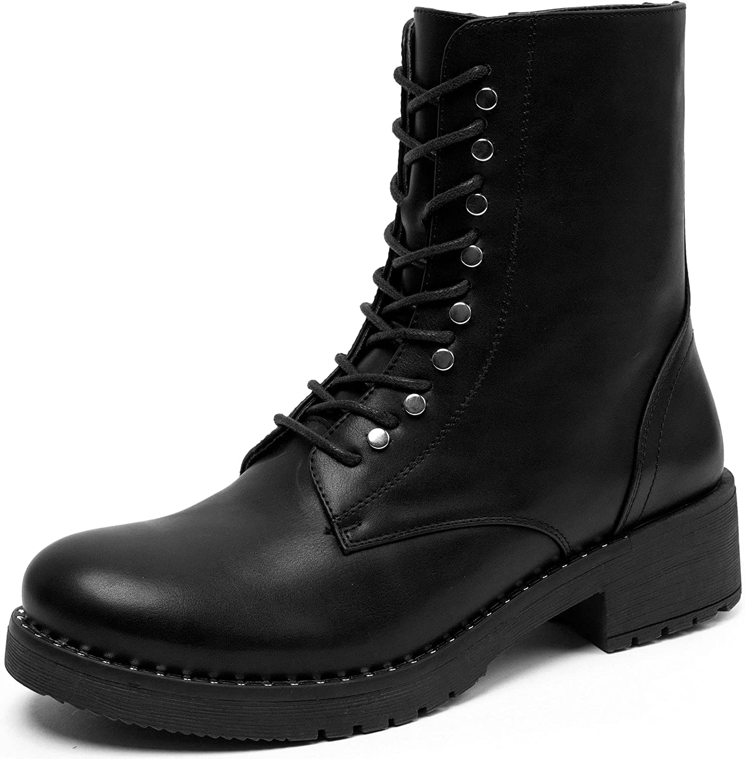 katliu Women's Military Combat Boots Up Lace Popular products Ranking TOP3 Ankle