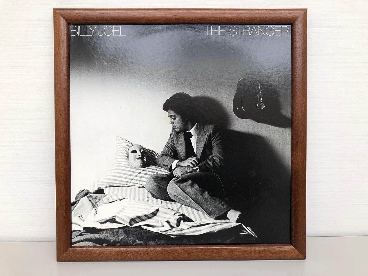 電池ジェスチャーやがてレコード フレーム LP フレーム LP飾る インテリア 額縁 Made in KYOTO (ブラウン)