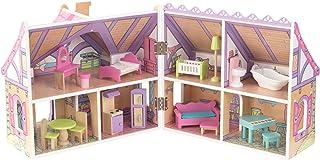 KidKraft Enchanted Forest Dollhouse Doll Multi 17.6 x 17.25 x 15.6 Inches