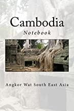Cambodia: Angkor Wat Notebook, 150 Lined Pages, Softcover, 6