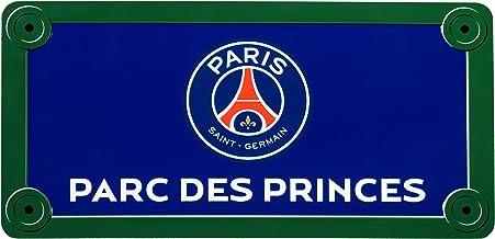 """Paris Saint Germain - Placa de calle """"Parcs des Princes"""" (15 x 20 cm, producto oficial)"""