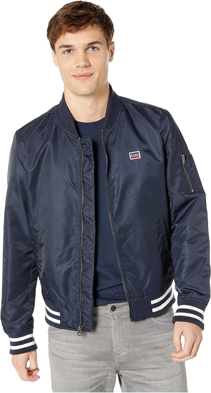Levi's Men's NEW before selling ☆ Atlanta Mall Retro Bomber Jacket Varsity