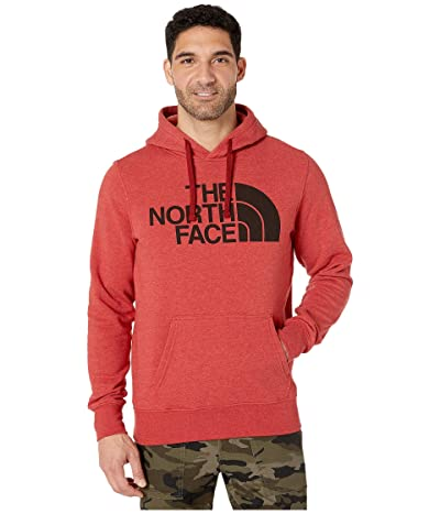 The North Face Half Dome Pullover Hoodie (Cardinal Red Heather) Men