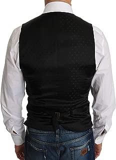 Black Wool Dress Waistcoat Italian Size MEN: IT44 | XS