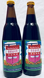 Kwong Hung Seng Black Soy Sauce, 21 Ounce (Pack of 2)