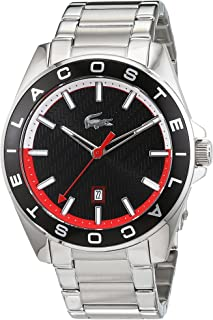 Lacoste 2010885 Stainless Steel Round Analog Watch for Men - Silver