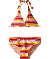 Toobydoo - Multi Stripe String Bikini (Infant/Toddler/Little Kids/Big Kids)
