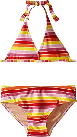 Multi Stripe String Bikini (Infant/Toddler/Little Kids/Big Kids)