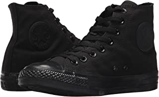 Converse Hi Top Black Mono 8.5