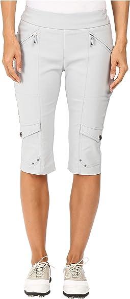Skinnylicious 24 in. Knee Capri
