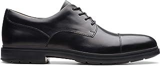 حذاء برباط للرجال من كلاركس, (اسود), 9 UK