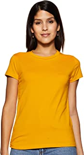 ABOF Women's Plain Slim fit Top