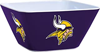 nfl melamine serving bowls
