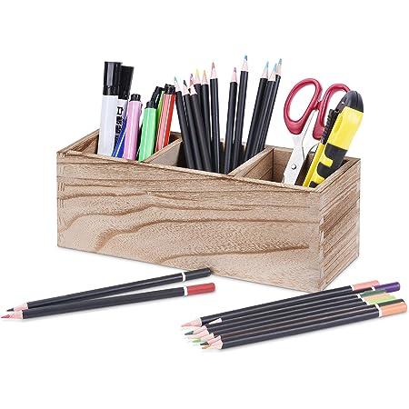 I3C Porte-gobelets /à crayons Dor/é Pot /à stylos Pot /à stylo Pot /à stylos Organiseur de bureau Papeterie Organisateur de Table Vases Pot de fleurs Support de pinceaux de maquillage Acier inoxydable Dor/é