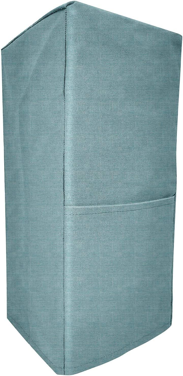 Kitchen Blender Covers Quilted Polyester Cover Blender Azure, 8.5x8x18inch Dust-Proof Organizer Blender Cover Kitchen Mixer Protector Anti Fingerprint Mixer Covers Year Around Protection