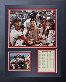 Legends Never Die 2007 Boston Red Sox World Series Champions Framed Photo Collage, 11 x 14-Inch