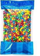 Bulk Peanut Butter M&Ms in Resealable Bomber Bag, Wholesale Peanut Candy Treats (5lb Bag)