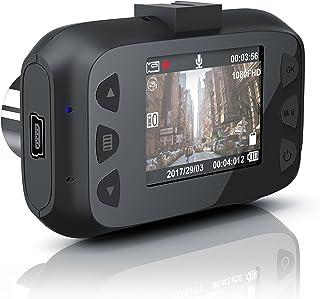 CSL   Dashcam Autokamera Full HD   KFZ Unfallkamera Car Dash Cam   Loop Recording   G Sensor   Foto  und TV Modus   150 Grad Weitwinkelobjektiv   Full HD 1080p   TFT LCD Display