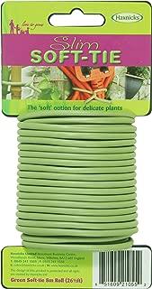 Tierra Garden 50-3010 Haxnicks Slim Soft Tie, 26.5', Green