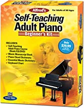 Alfred's Self-Teaching Adult Piano Beginner's Kit: For Adults of All Ages, Boxed Set (Starter Pack)