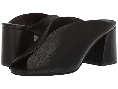 Seychelles By the Beach Slide, BLACK LEATHER